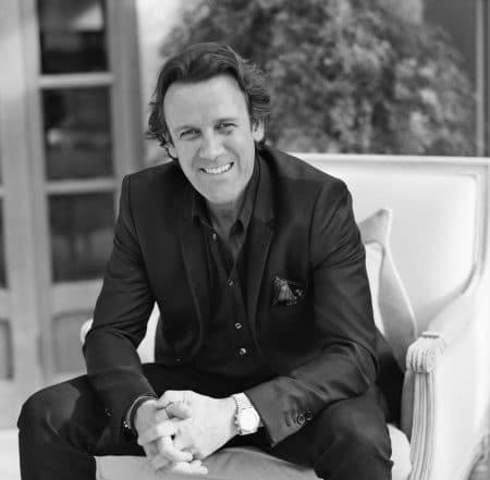 Tim Wilman founder of SketchTwenty3 luxury wallcoverings studio