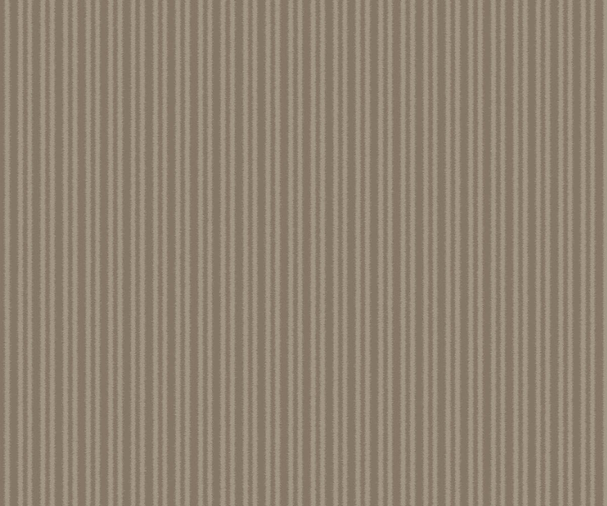 COTTON STRIPE LATTE A Milan-Wallpaper-CO00126