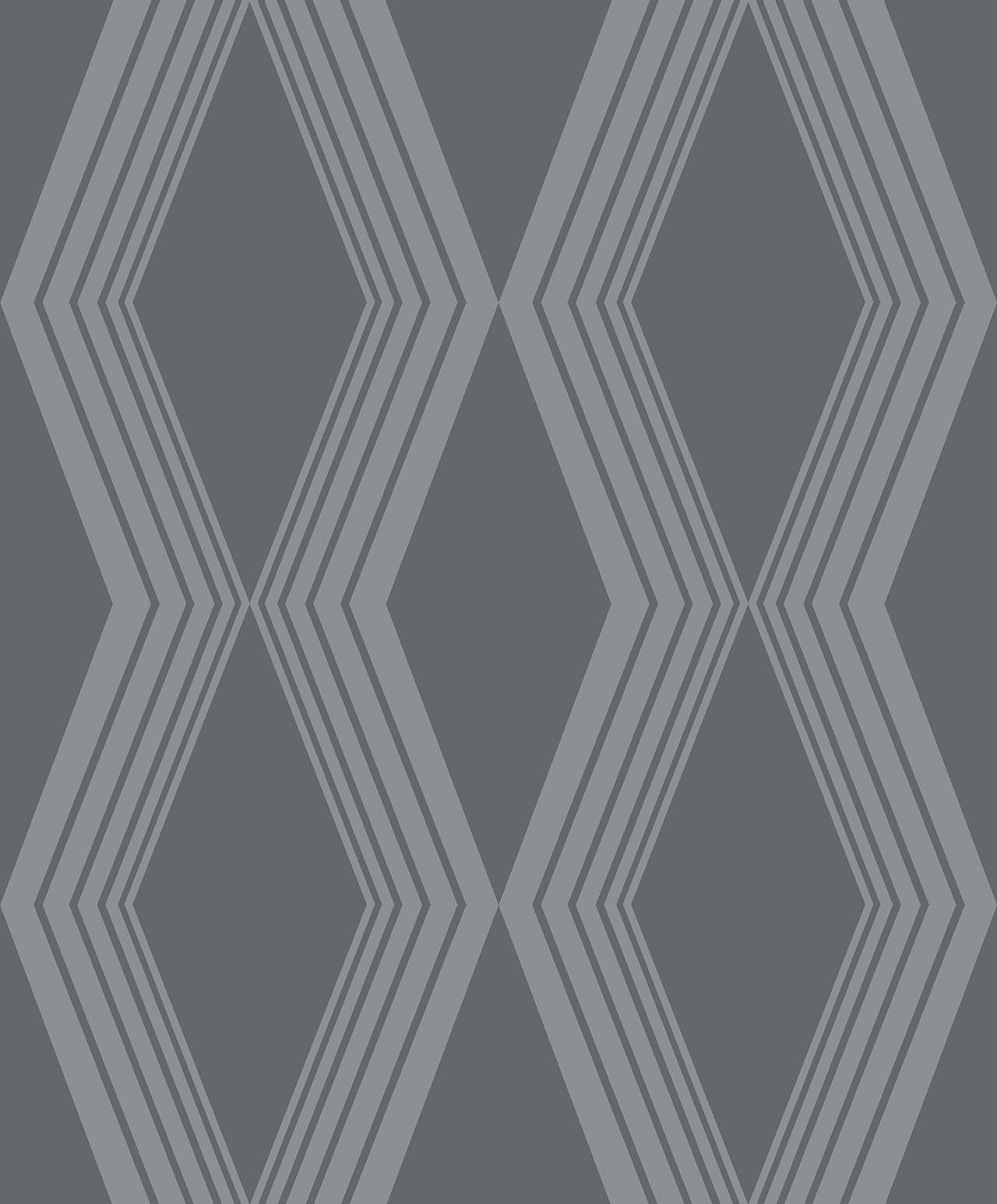 DIAMONDS CHARCOAL  A decadence wallpaper-DC00166