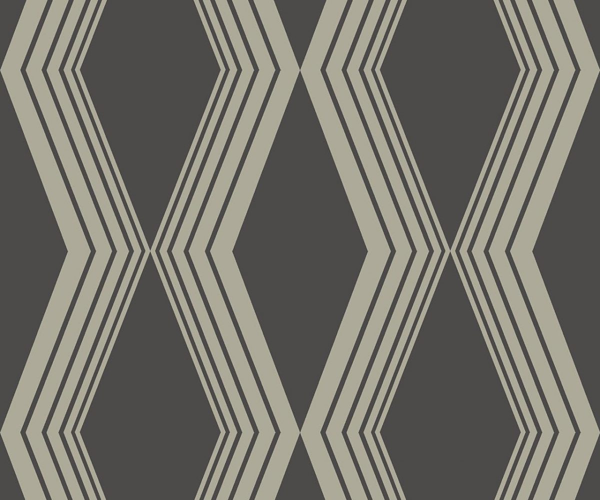 DIAMONDS TRUFFLE  A decadence wallpaper-DC00168