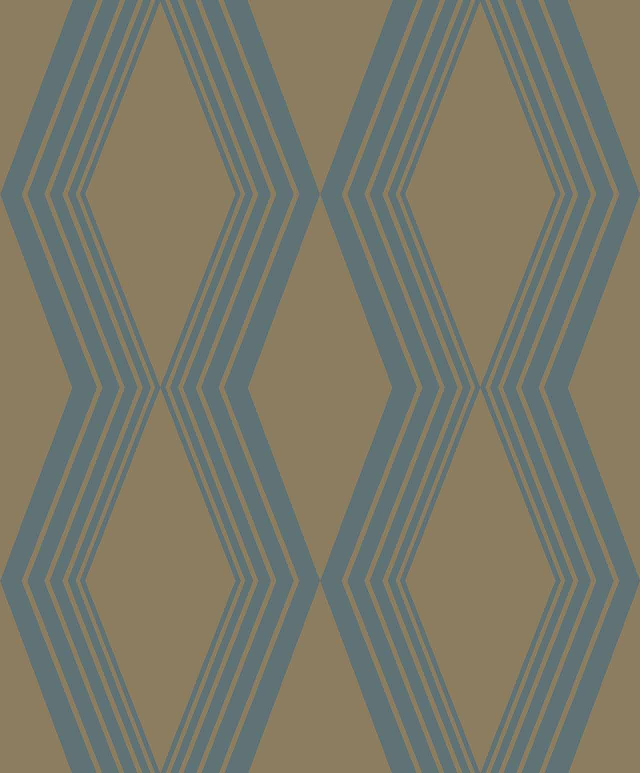 DIAMONDS TURQUOISE  A decadence wallpaper-DC00167