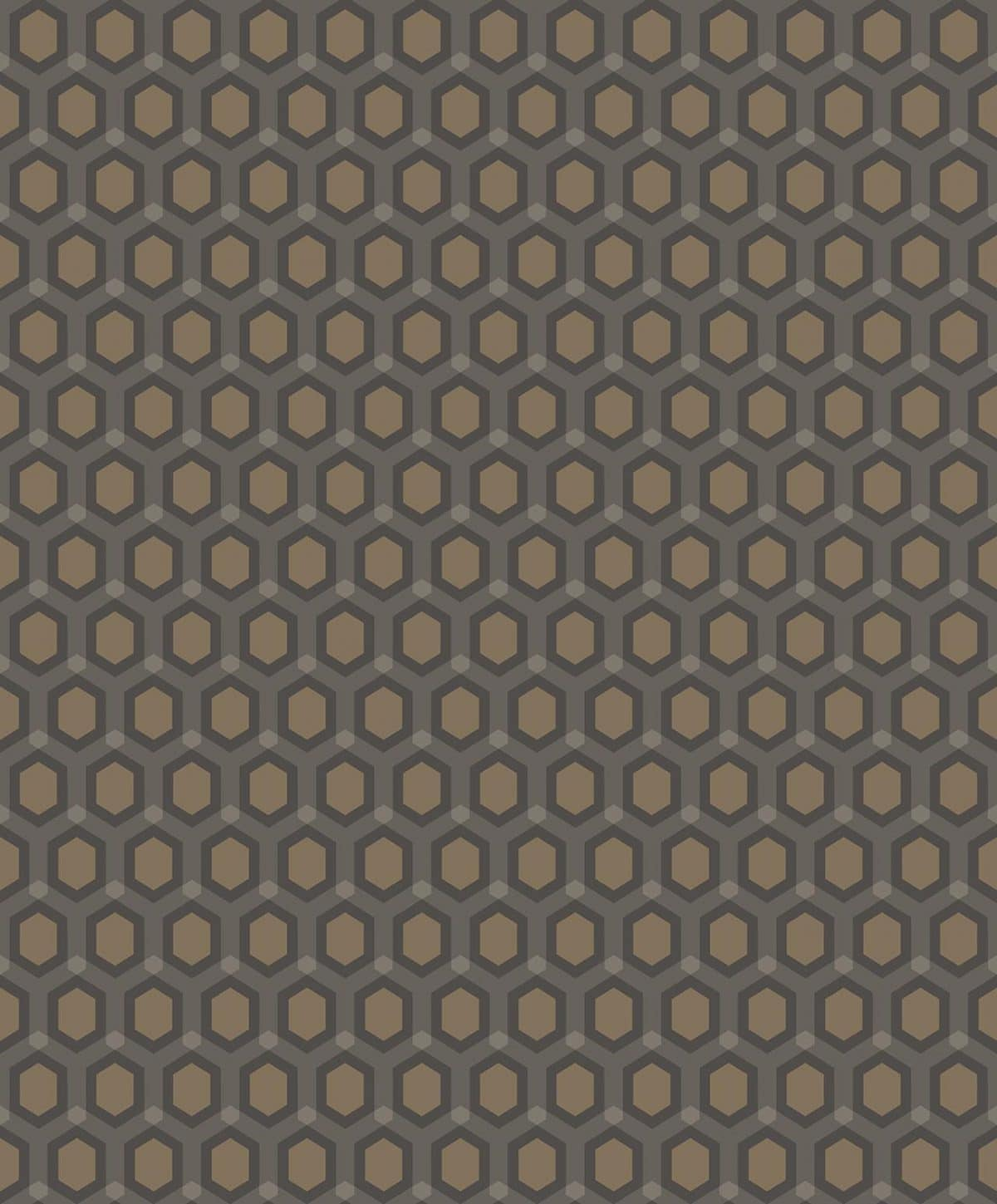 HONEYCOMB CHOCOLAT decadence wallpaper-DC00172