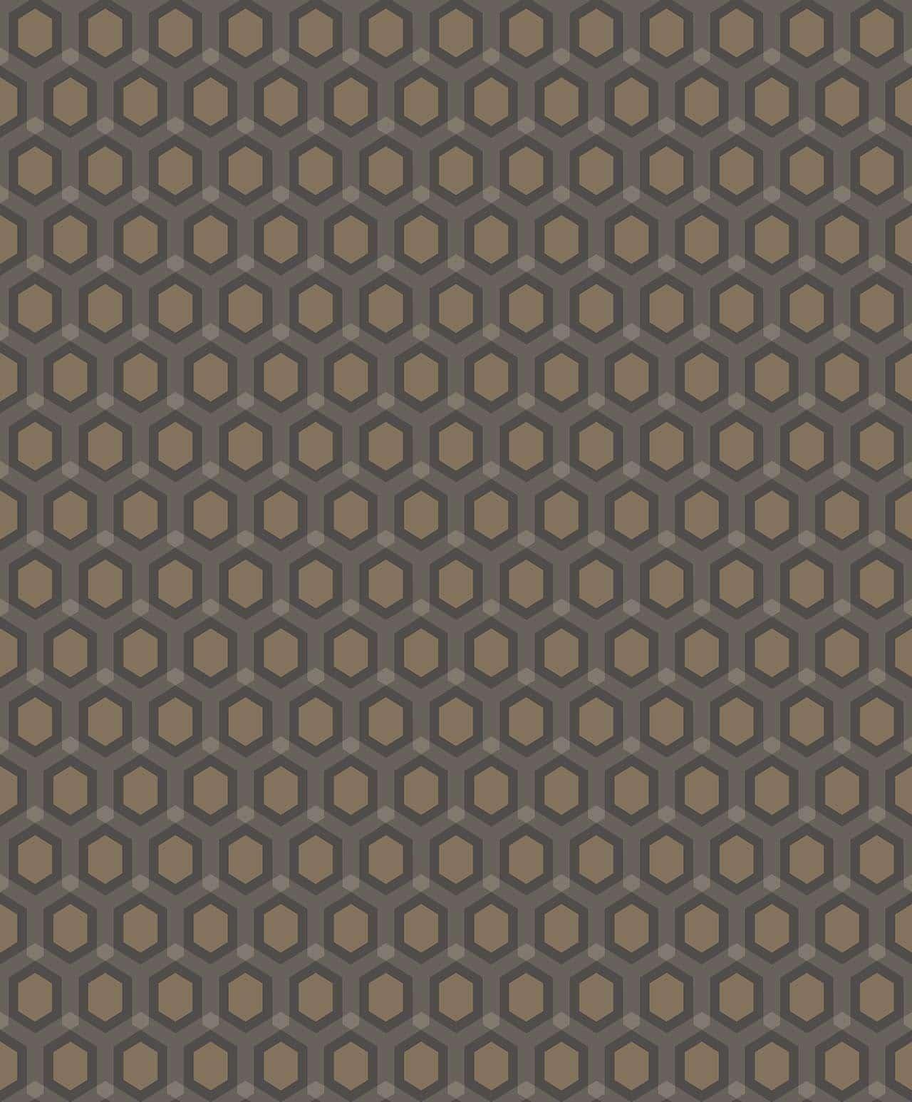 HONEYCOMB CHOCOLAT decadence wallpaper-DC00172