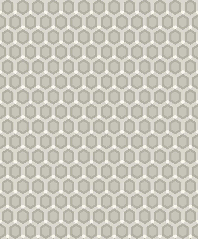 HONEYCOMB KHAKI  A decadence wallpaper-DC00171