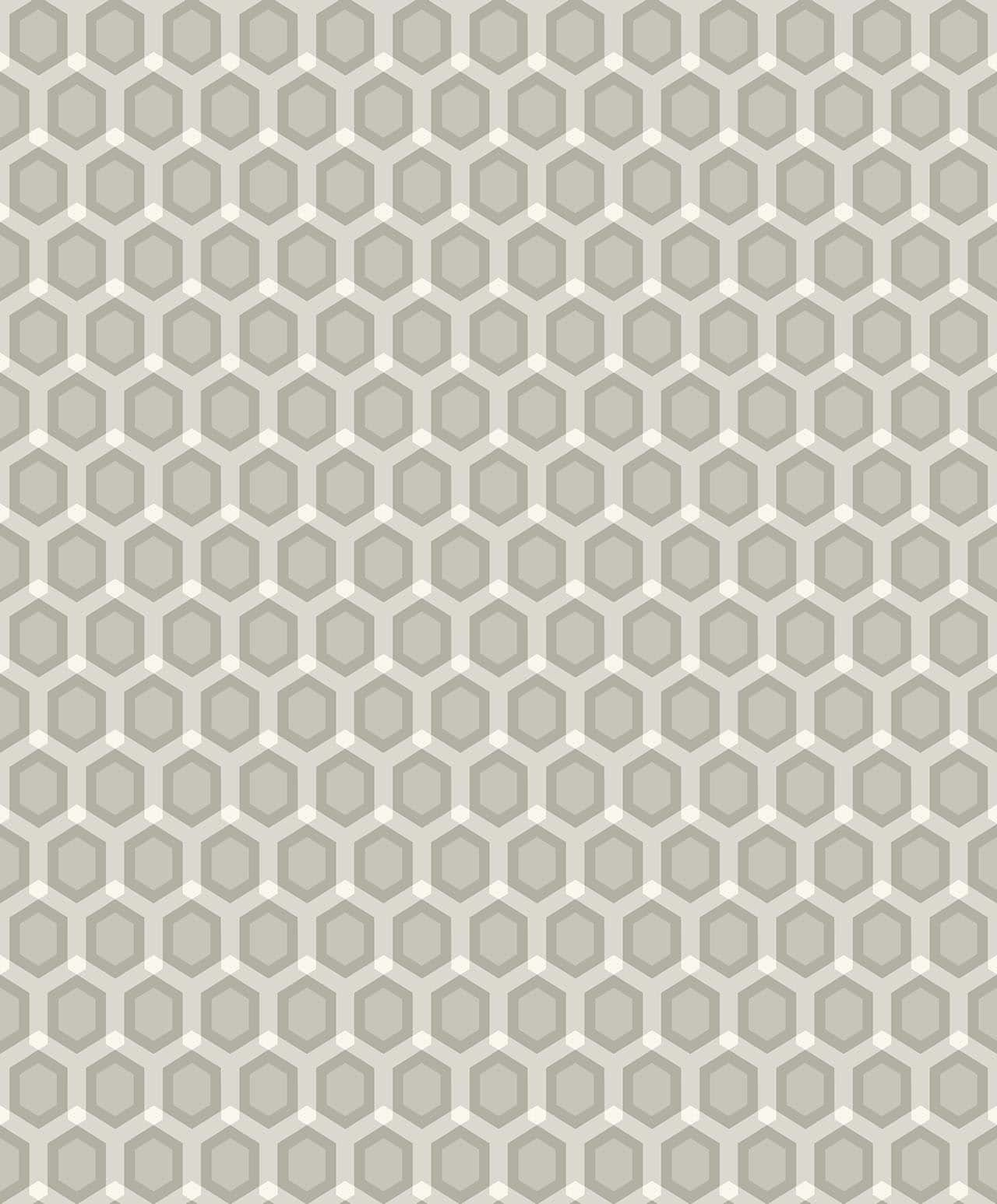 HONEYCOMB KHAKI  A decadence wallpaper-DC00171