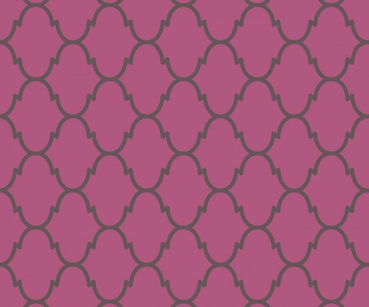 MARRAKESH FUCHSIA B decadence wallpaper-DC00156