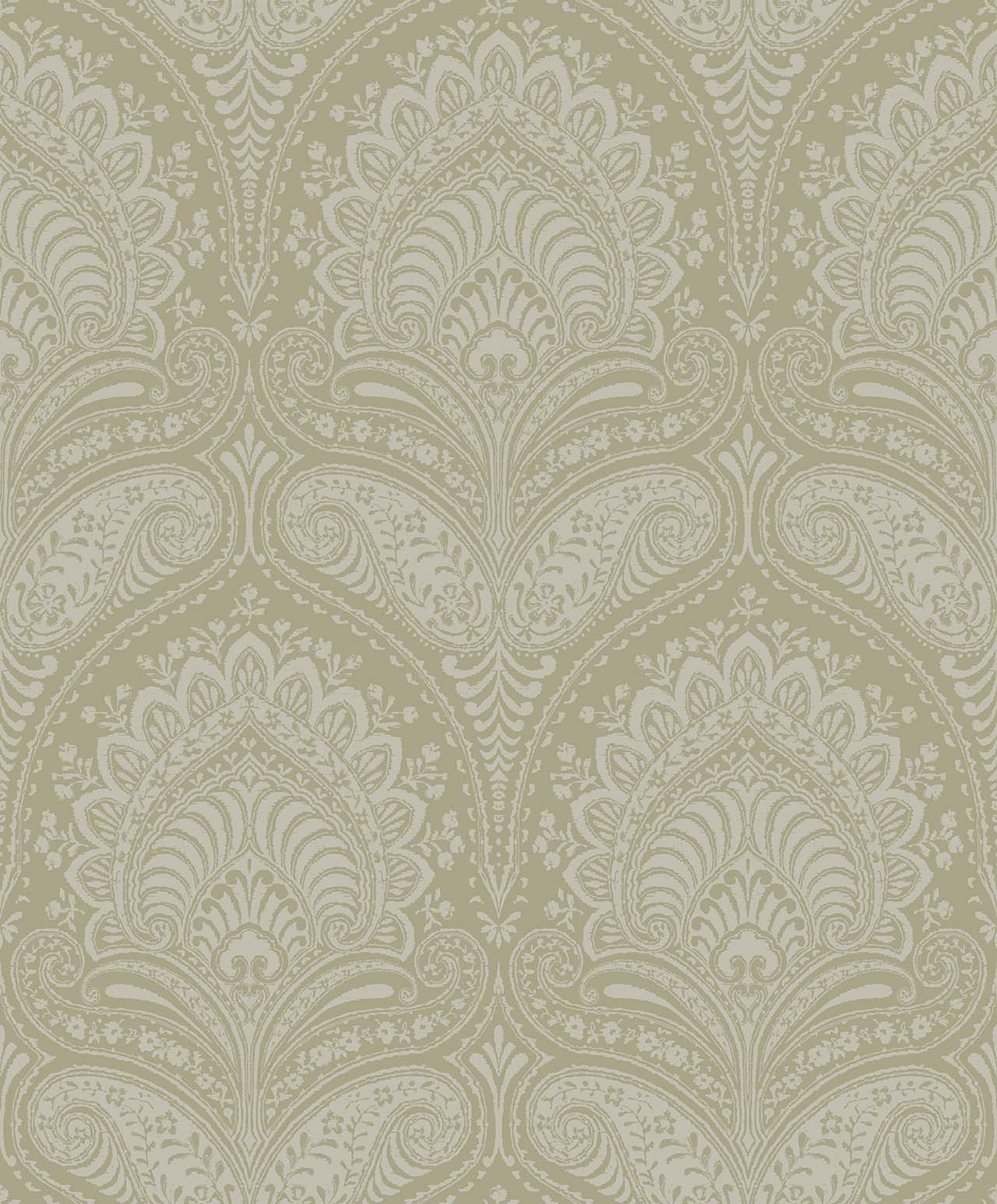 REGAL OLIVE  A Milan-Wallpaper-CO00114