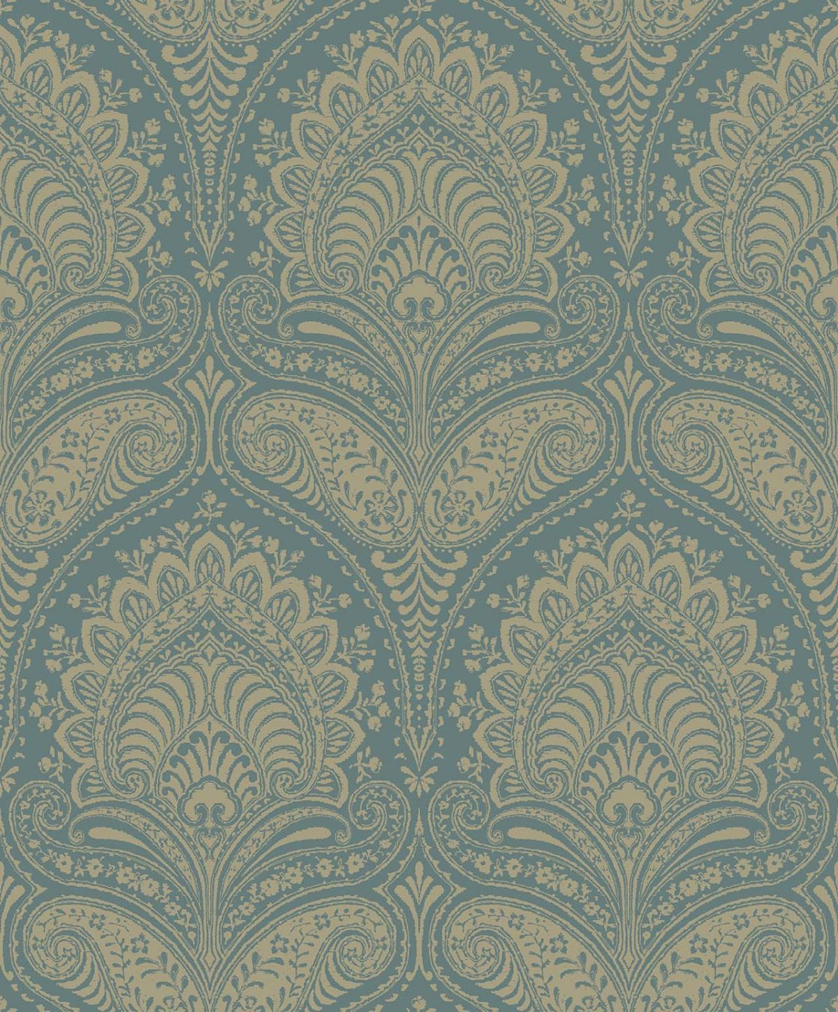 REGAL TEAL A Milan-Wallpaper-CO00116