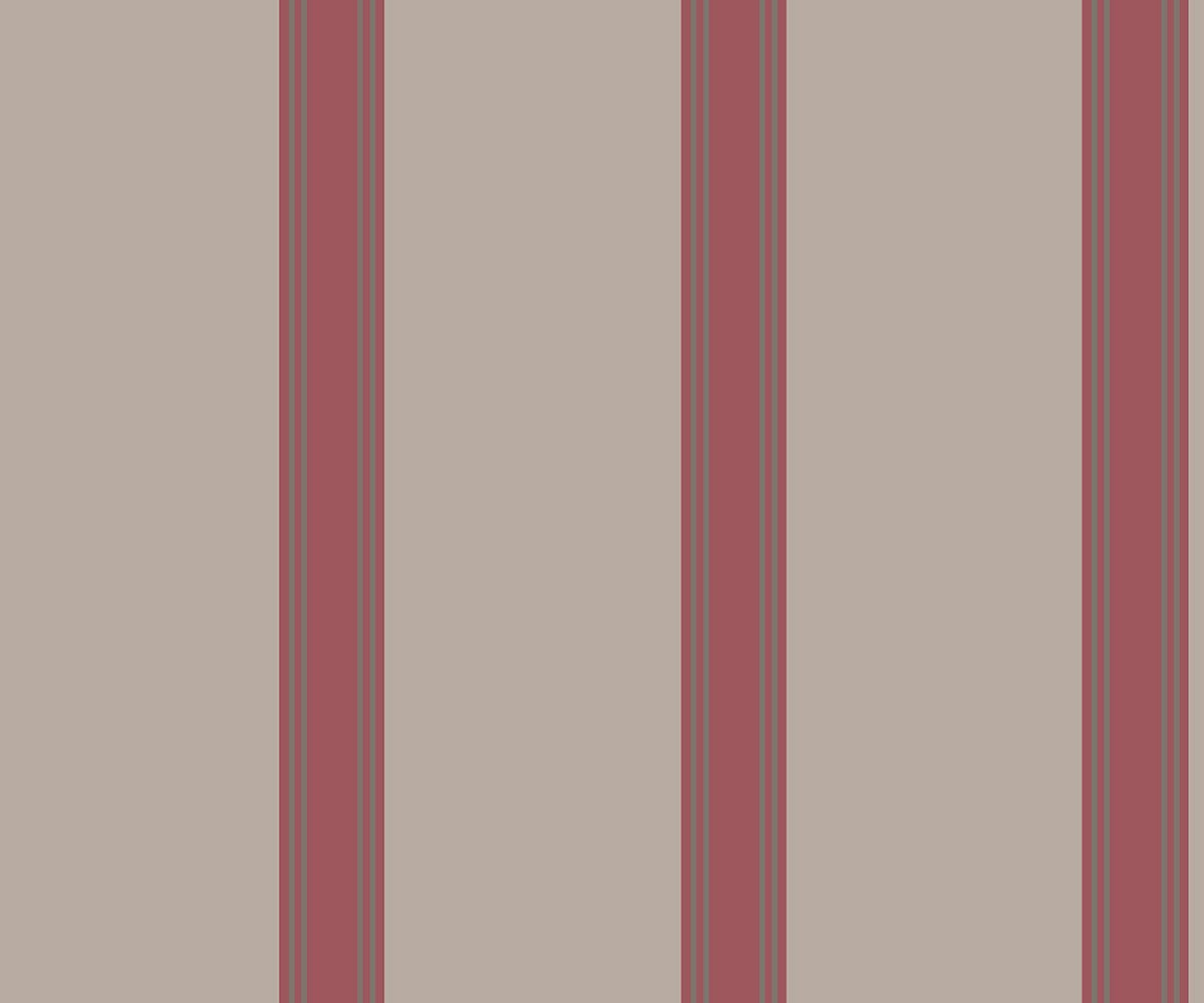 REGENCY ROYAL STRIPE  WINE A PV00217