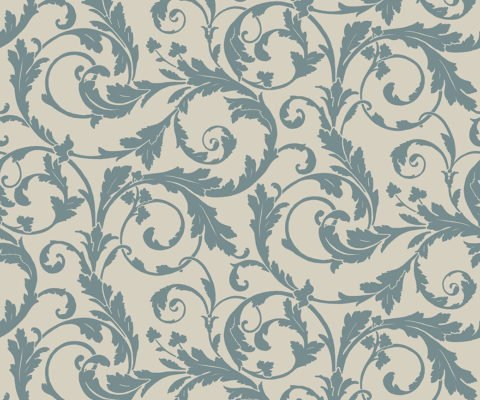 REGENCY SCROLL TEAL