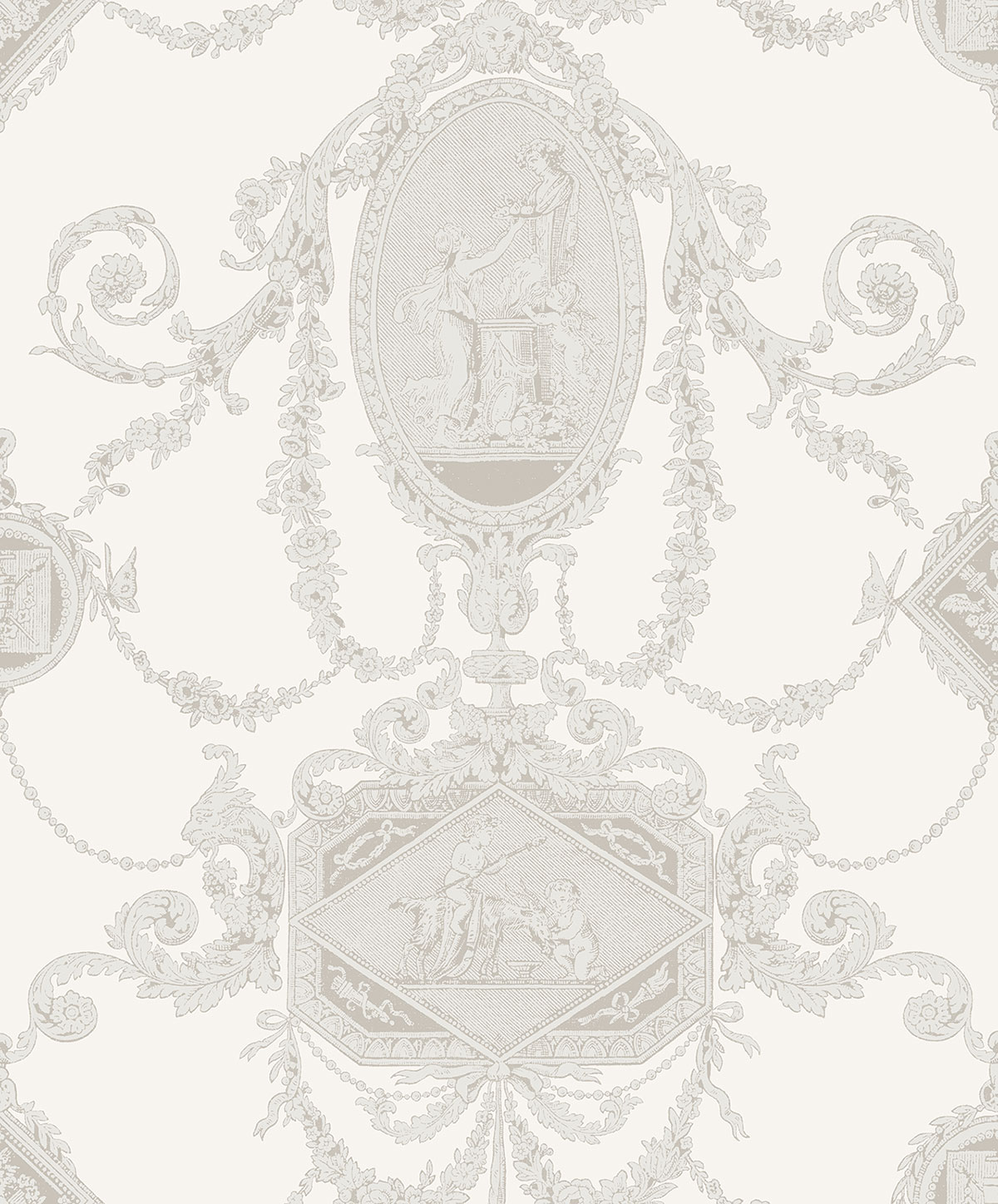 REGENCY TOILE IVORY A PV00200