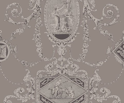 REGENCY TOILE PEWTER