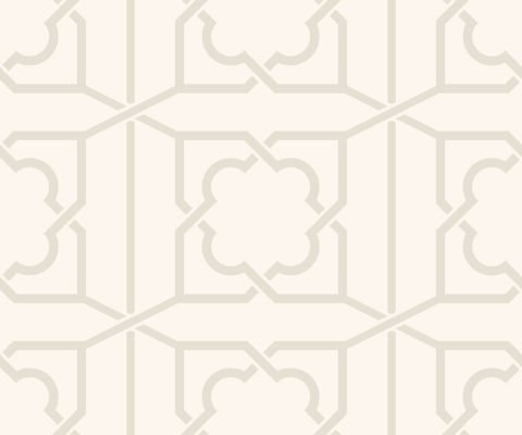 REGENCY TRELLIS IVORY BEADED