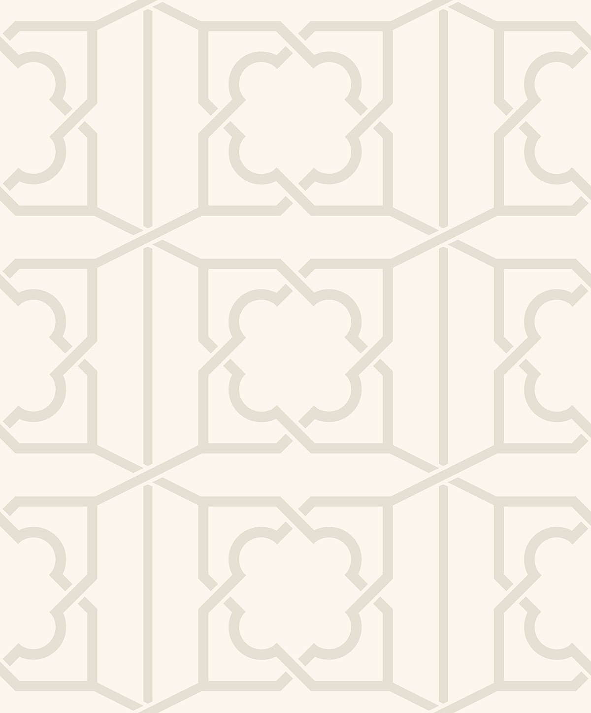 REGENCY TRELLIS IVORY BEADED B PV00236