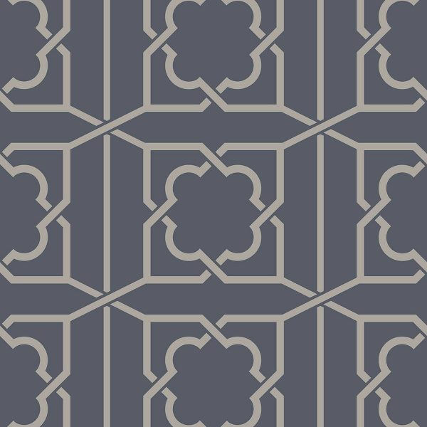 REGENCY TRELLIS ROYAL BLUE