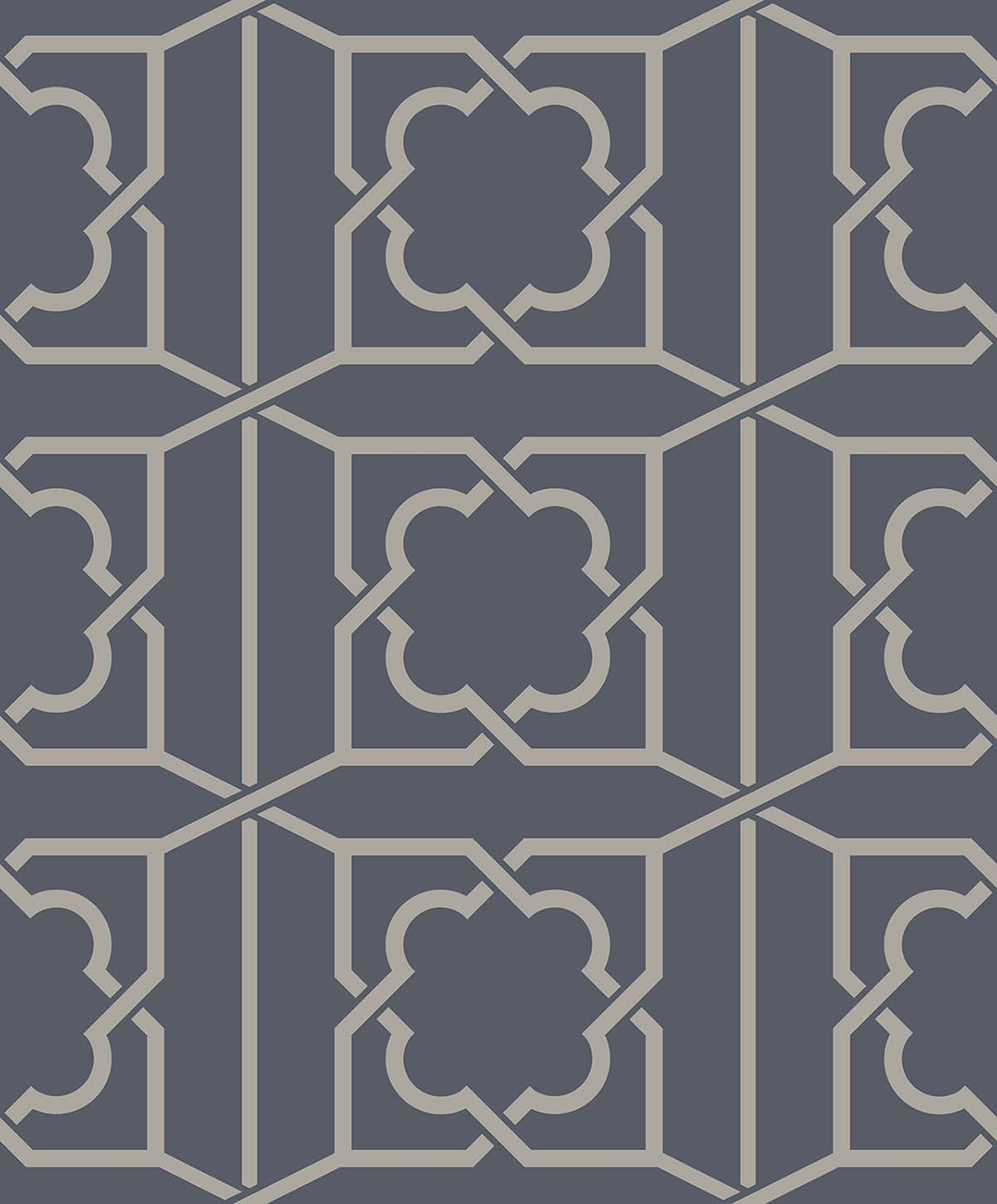 REGENCY TRELLIS ROYAL BLUE A PV00235