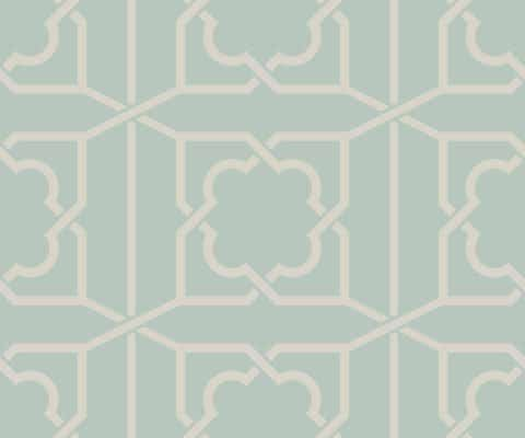 REGENCY TRELLIS TEAL