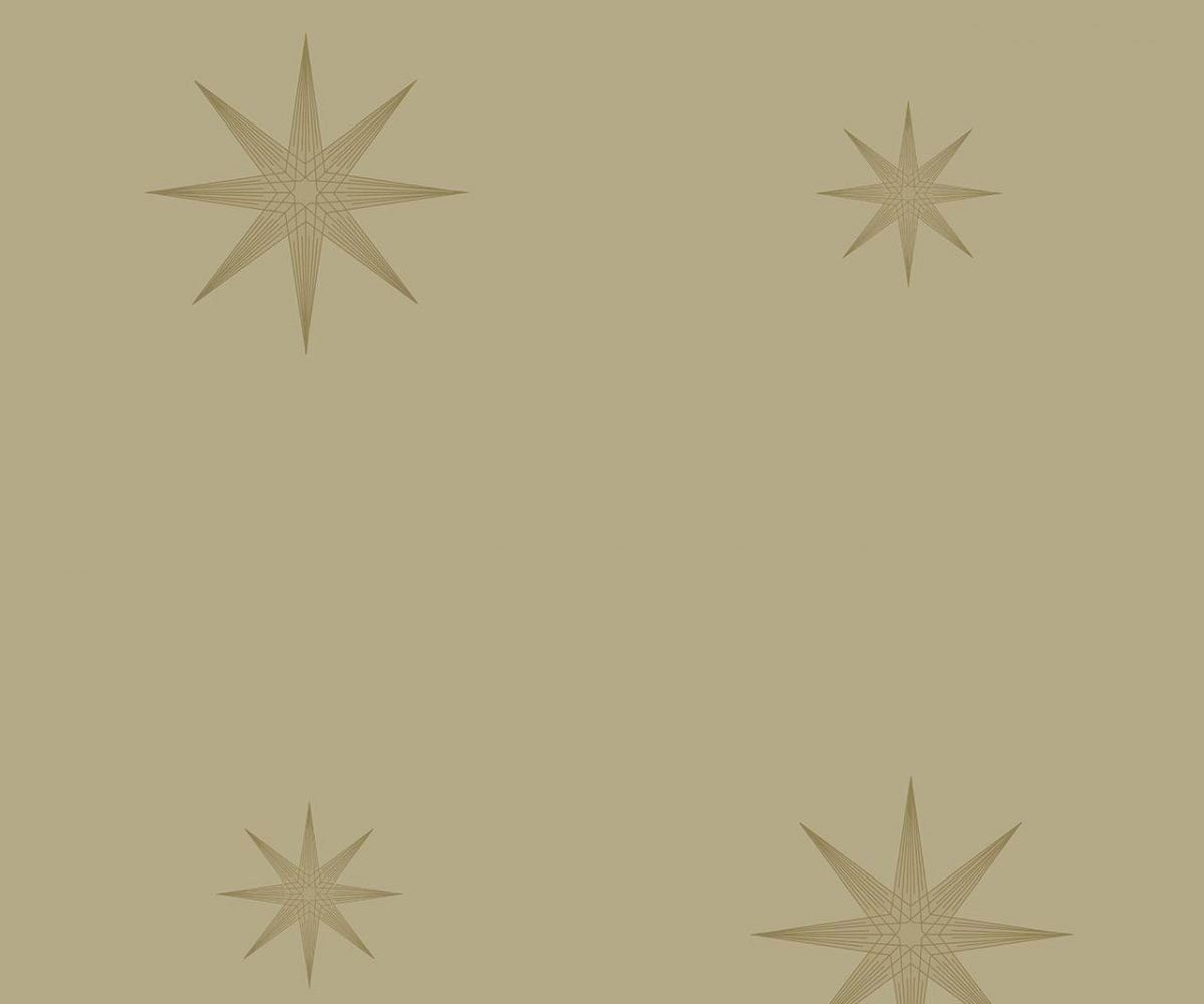 STAR GOLD  A decadence wallpaper-DC00178