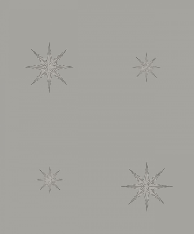 STAR GREY  A decadence wallpaper-DC00179