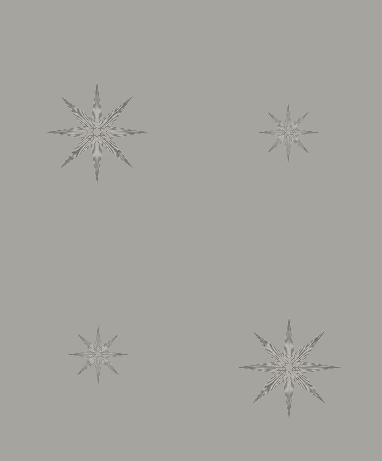STAR GREY A decadence wallpaper