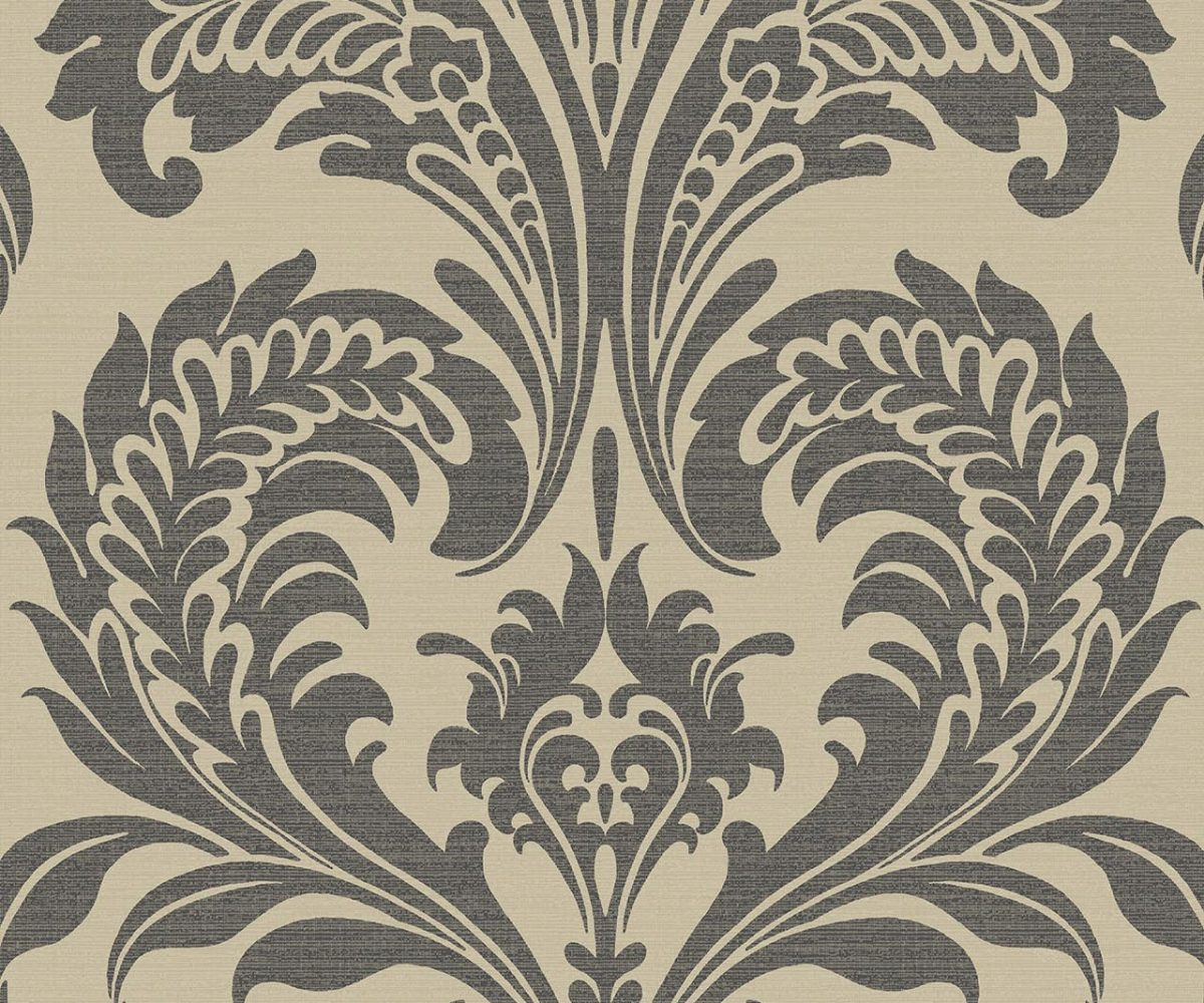 TRAVERTINA BLACK&GOLD A Milan-Wallpaper-CO00100