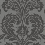 TRAVERTINA CHARCOAL A Milan-Wallpaper