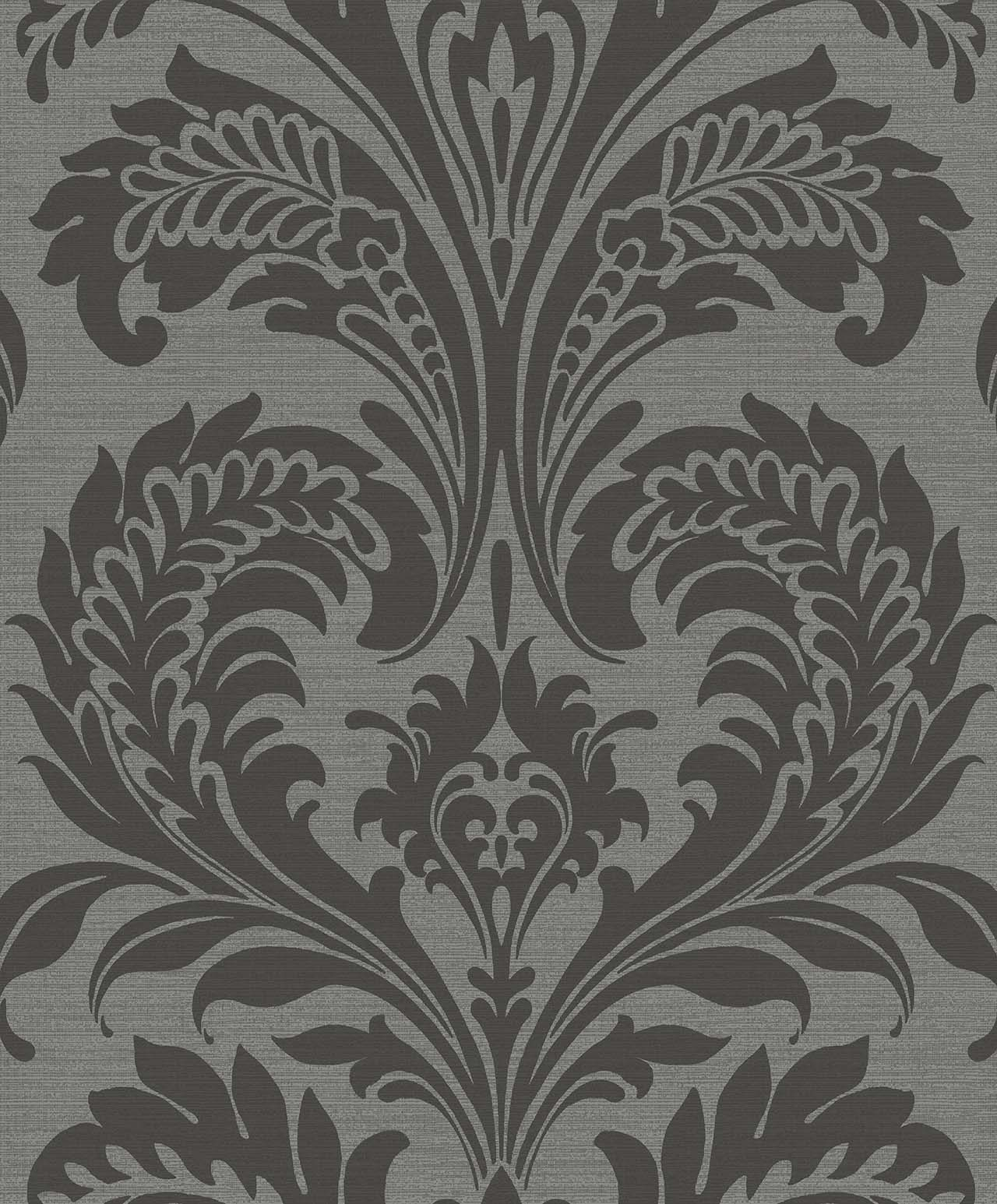 TRAVERTINA CHARCOAL A Milan-Wallpaper-CO00103