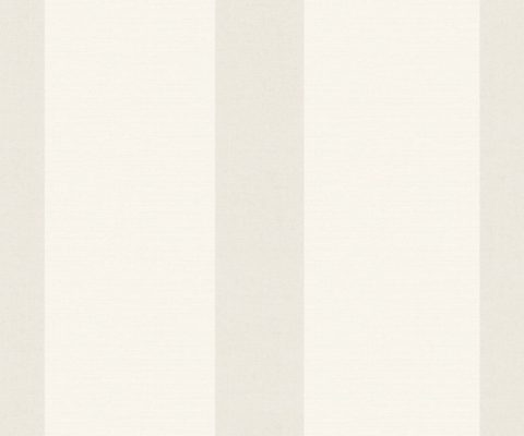 WIDE STRIPE IVORY A Milan-Wallpaper