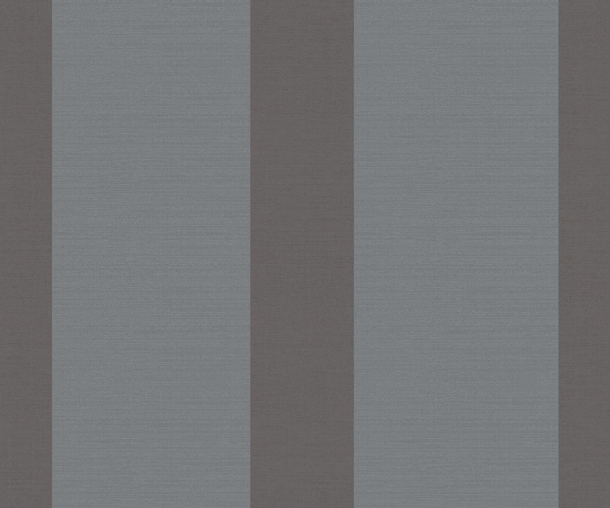 WIDE STRIPE STEEL A Milan-Wallpaper-CO00110