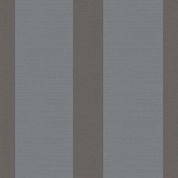 WIDE STRIPE STEEL A Milan-Wallpaper